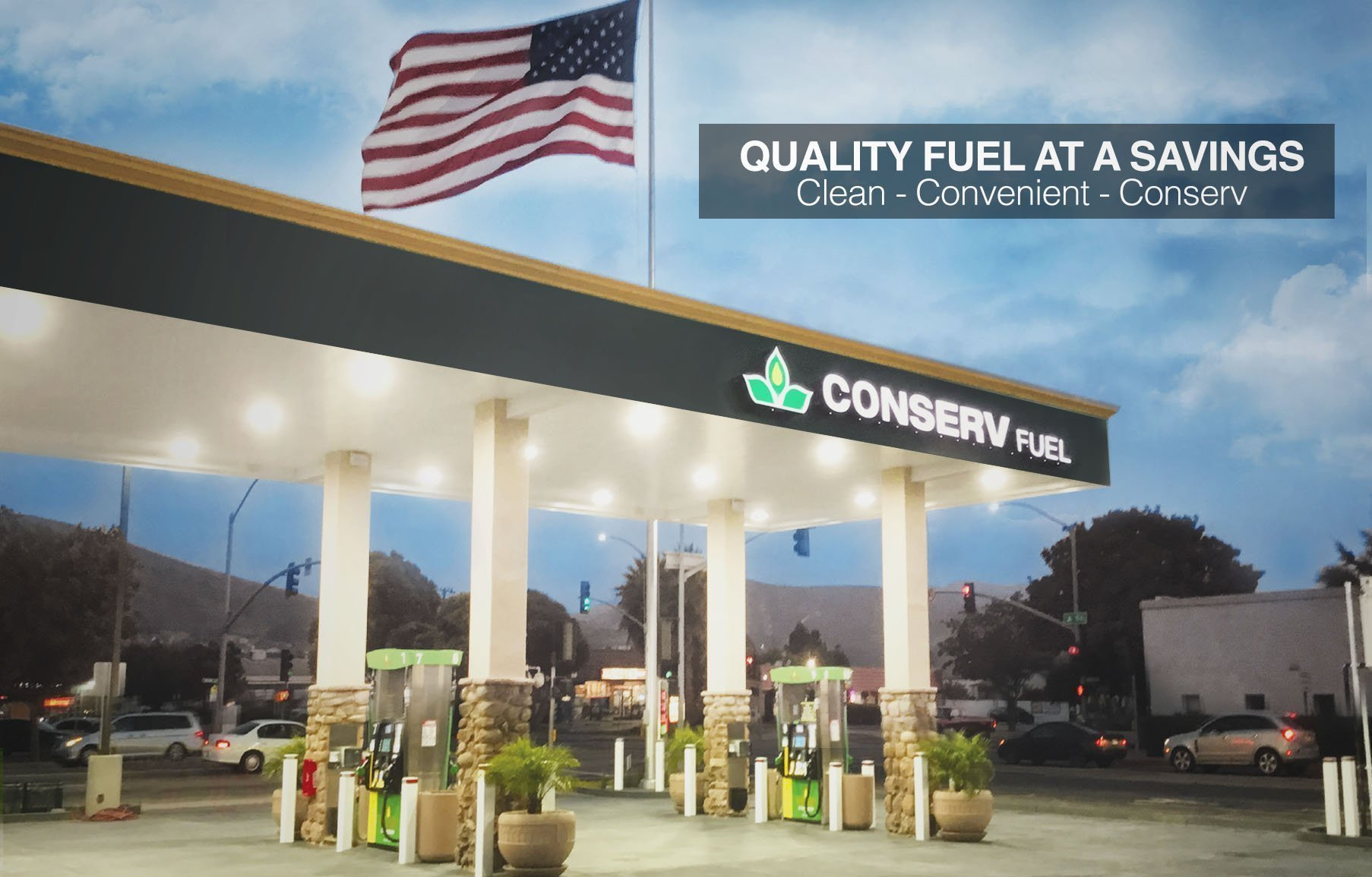 Nearest Diesel Gas Station >> Conserv Fuel California Locations For Gas Diesel Car